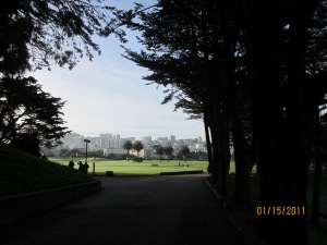 San Francisco Park (the name evades me)