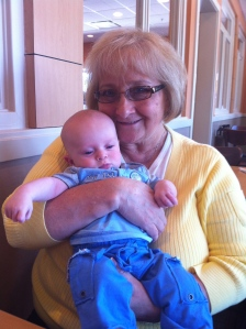 Easter 2012 with Grammy at Brunch