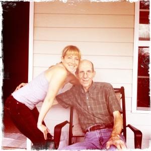 Hanging on the back porch - Vidalia, GA